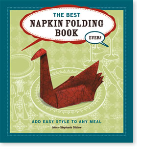 The Best Napkin Folding Book Ever